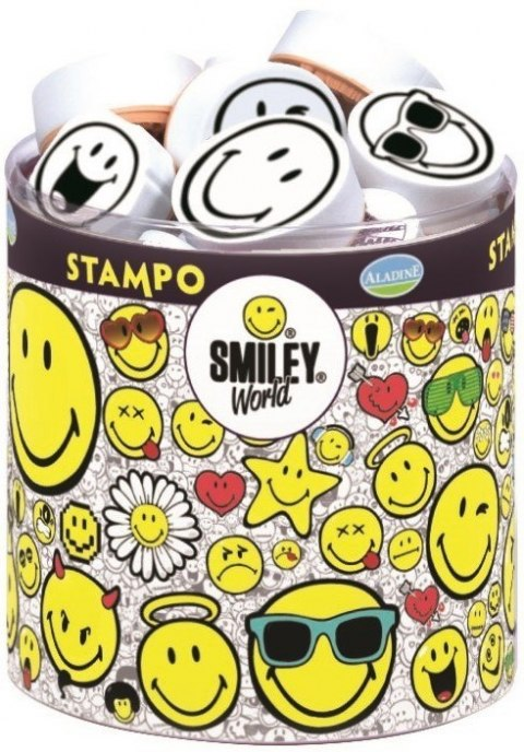 Stempelki SMILEY, gumowe