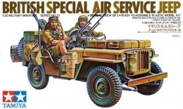 British SAS Jeep