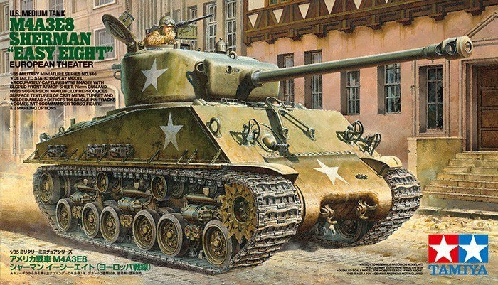 US Tank M4A3E8 Sherman Easy Eight