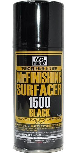 Finishing Surfacer 1500 Black