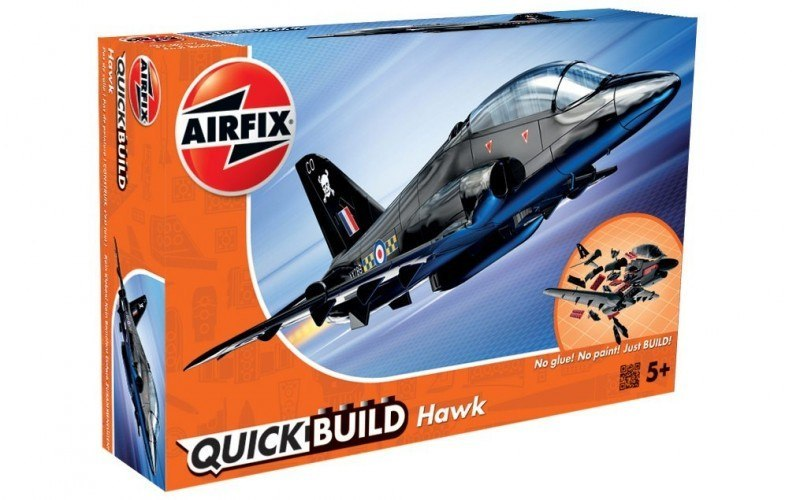 Model plastikowy QUICK BUILD BAe Hawk