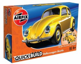 Model plastikowy QUICKBUILD VW Beetle Yellow