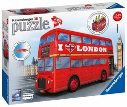 Puzzle 216 elementów 3D London Bus