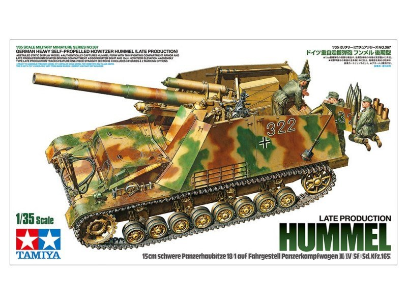 Model plastikowy Hummel Late production