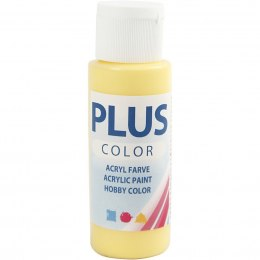 Farba PLUS Color 60 ml Żółty Pierwiosnek