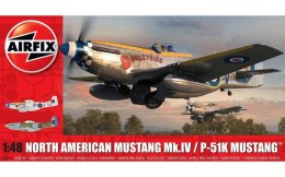 Model plastikowy North American Mustang Mk.IV