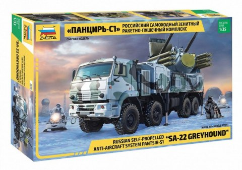 Model plastikowy Pantsir S-1 Russi an Anti Aircraft System