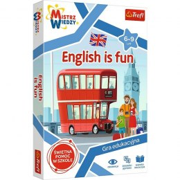 Gra English is Fun, Trefl, quiz, gra edukacyjna
