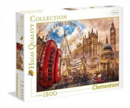 Puzzle 1500 elementów High Quality Vintage London