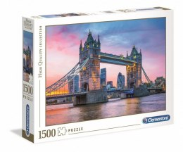 Puzzle 1500 elementów HQ Tower Bridge Sunset